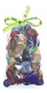 Saco C/ 1kg De Pedras 2-4cm Semipreciosas Brasileiras Mistas