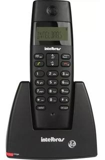 Telefone Sem Fio Intelbras Ts 40id Preto Identificador