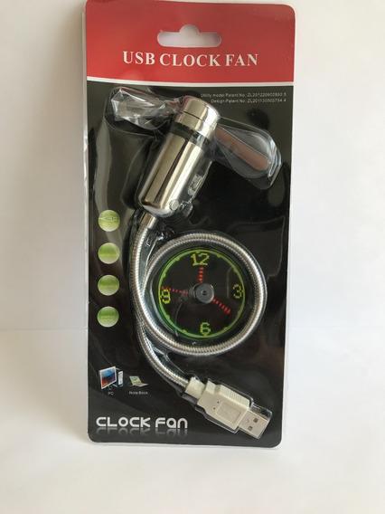 Reloj Led/usb Para Computadora