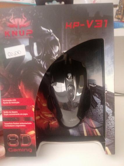 Mouse Gamer Knup Kp-v31