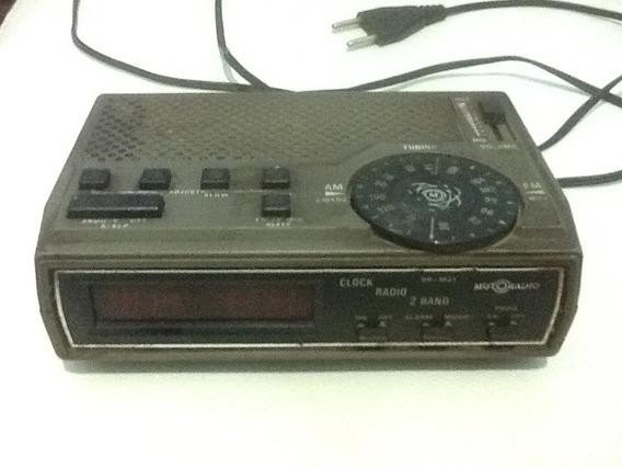 Rádio Relógio Motoradio Rr M 21 Funcionando.