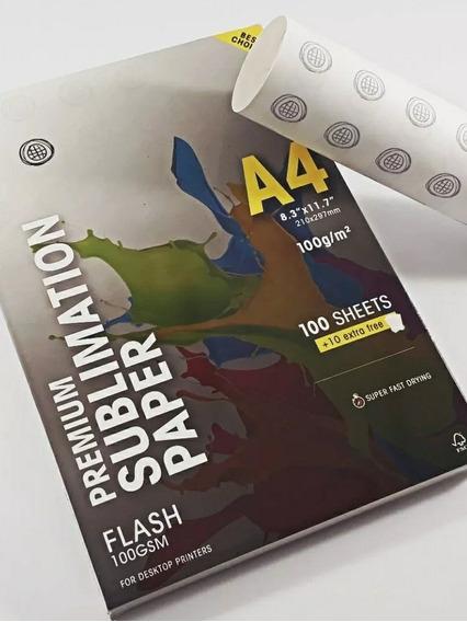 Papel Sublimação 400 Folhas A4 Globinho Mundi Premium