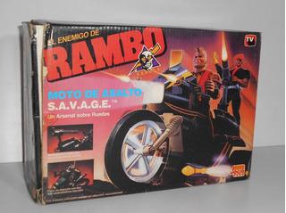 Rambo - Moto De Asalto Savage - Jocsa - Impecable / En Caja