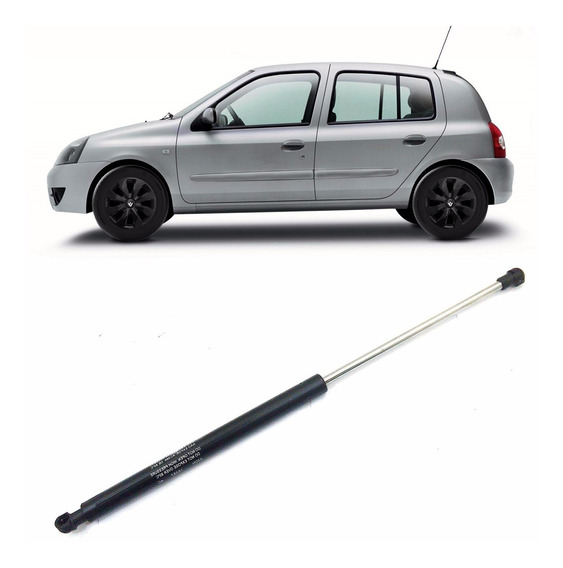 Amortecedor De Porta Malas Clio Hatch 2000/2012 Mola A Gas