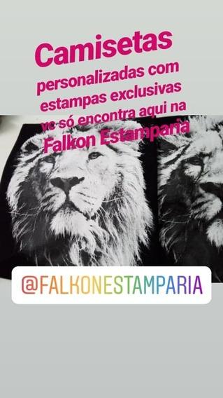 Camiseta Leão Camisa Leão