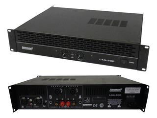 Unidad De Potencia Amplificador Lexsen Lxa300 300w Rms