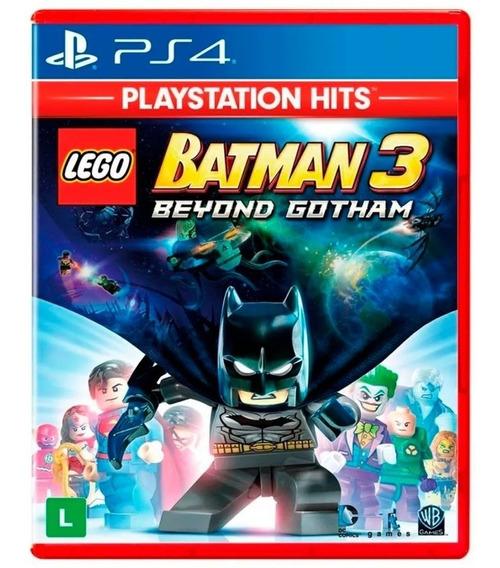 Lego Batman 3 Ps4 Mídia Física Lacrado 100% Português
