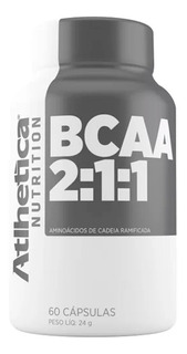 Bcaa Pro Series 60 Caps - Atlhetica - Recuperação Muscular