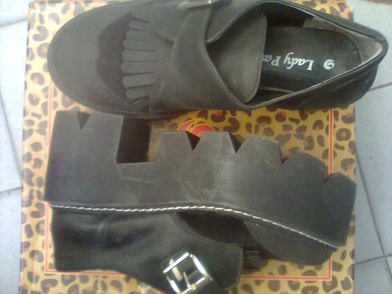 Zapatos Con Plataforma Talle 35