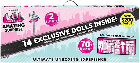 Nova Lol Surprise Amazing Surprise 14 Bonecas Exclusivas