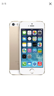 iPhone 5s 64 Gb Dourado Com Caixa E Carregador- Excelente