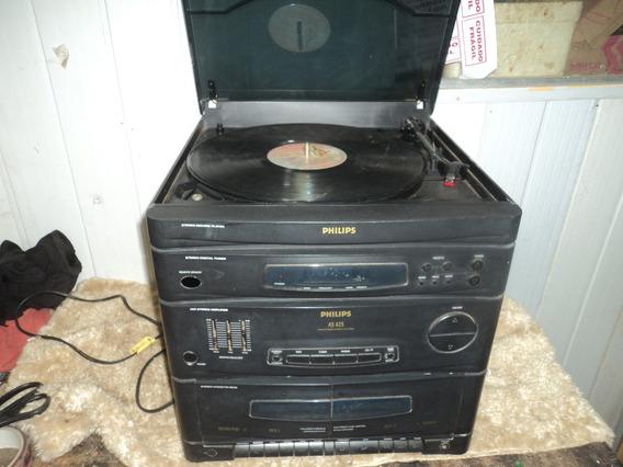 Aparelho/s/fita /radio /toca Disco/ Philips/ Nao Funciona /a