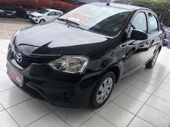 Etios 1.5 X Sedan 16v Flex 4p Manual 23694km