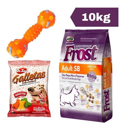 Imagen 1 de 2 de Frost Adulto Sb 10 Kg + Juguete + Snacks + Envío Gratis!