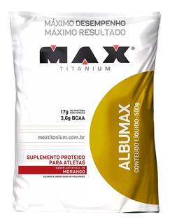 Albumina 500g Max Titanium