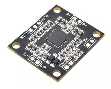 Kit Placa Amplificador Digital 30w Rms