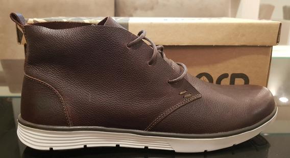 Bota Sapato Em Couro Novo