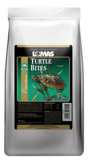 Lote 4 Alimento Tortuga Wardley Turtle Bites 1.5kg Bolitas