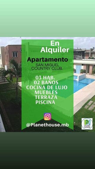 Alquilo Apartamento San Miguel Country Club Maturin