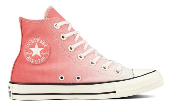 Converse Zapatillas Mujer Ctas Hi Punch Rosa Blanco Fkr