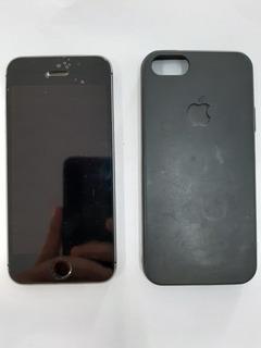 Celular iPhone 5s Prata 16gb Semi-novo