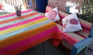 Mantas Antiguas Artersanales Bolivianas