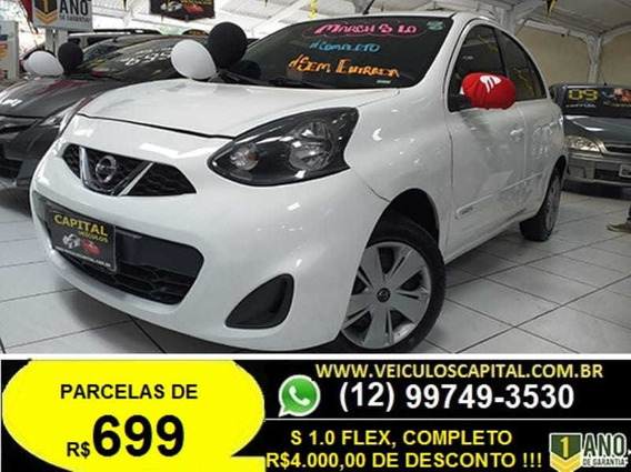 Nissan March 1.0 S 12v Flex 4p Manual 2015
