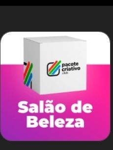 Imagem 1 de 1 de Pacote Criativo Pra Salão De Beleza