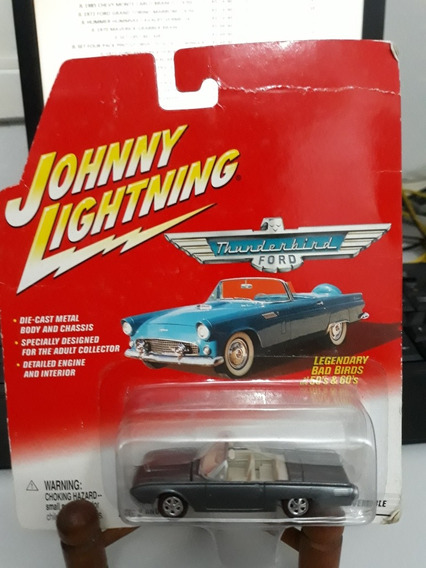 Miniatura Johnny Lightning Ford Thunderbird 1961 1/64 Loose
