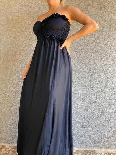 Imagem 1 de 5 de Vestido Longo Preto