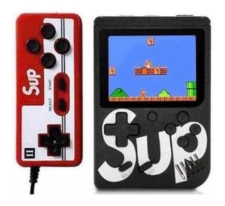 Mini Consola Retro Portátil Sup Game 400 Juegos + Mando