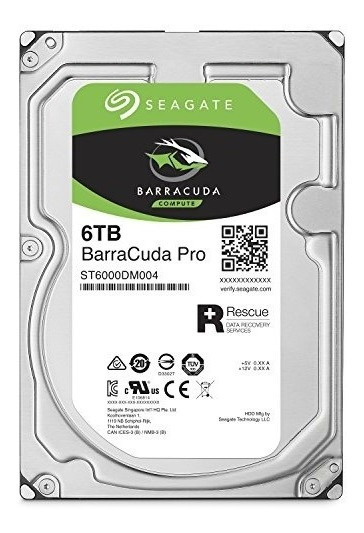 Disco Barracuda Pro 6tb Para Juegos/datos 7200rpm 256mb