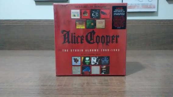 Alice Cooper - The Studio Albums 1969 - 1983 Box Set 15 Cds