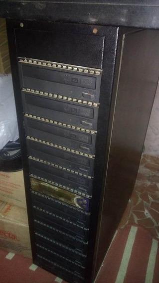 Duplicadora De Dvd E Cd Com 11 Gravadores
