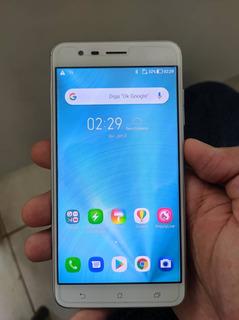 Zenfone 3 Zoom 128gb, Branco C/ Defeito Câmeras Ze553kl