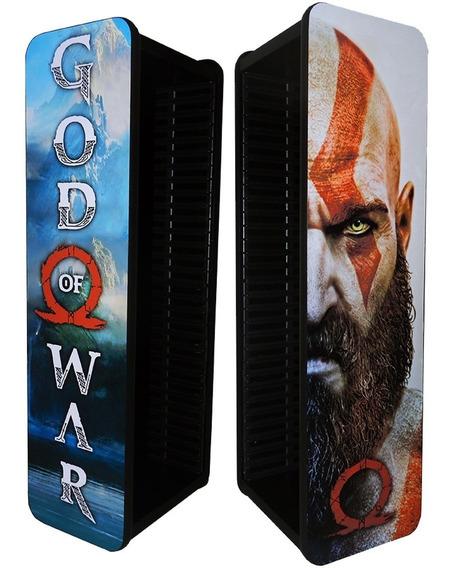 Porta Jogos Ps4 Ps3 Xbox One Blu-ray Capacidade 30 Jogos