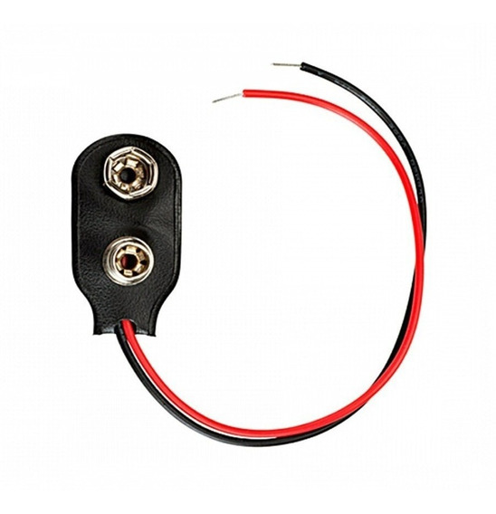 Conector Bateria 9v Enchufe Pila 9v Portapila Clip
