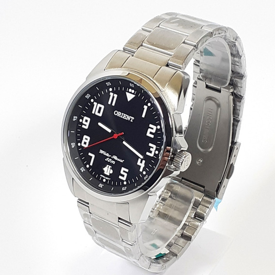 Relógio Quartzo Masculino Orient Mbss1154a Cromado