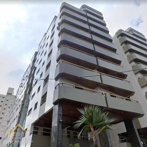 Imagem 1 de 22 de Apartamento Com 1 Dormitório À Venda, 67 M² Por R$ 195.000,00 - Aviação - Praia Grande/sp - Ap2560