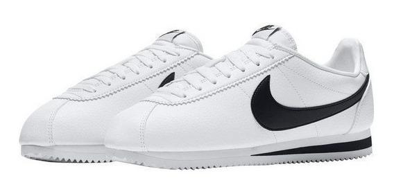 Tenis Nike Cortez Leather Blanco Talla #27½ Hombre Psd