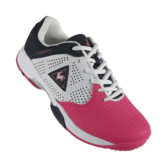 Zapatillas Le Coq Sportif Ronnie Lady White/pink/black