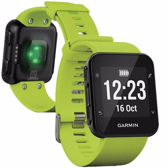 Relógio Monitor Cardíaco Garmin Forerunner 35 Gps Verde