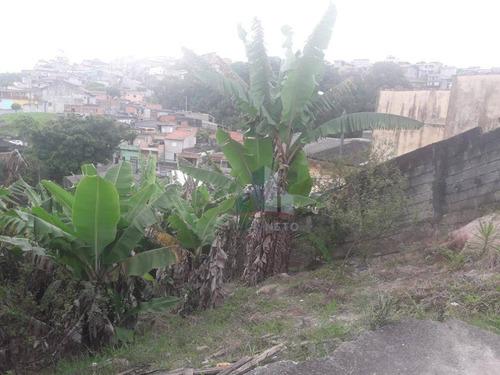 Terreno À Venda, 437 M² Por R$ 138.000,00 - Parque Aliança - Ribeirão Pires/sp - Te0055