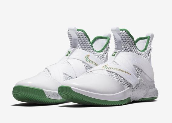 Nike Lebron Soldier 12 Svsm Basquetbol Bota Mayma Sneakers