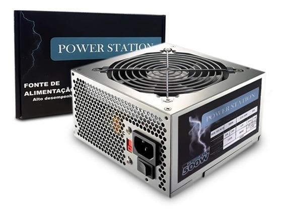 Fonte 500w Power Station Gbx500 Afb