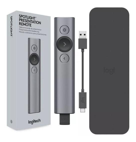 Apresentador Logitech Spotlight Bluetooth Slide Recarregável