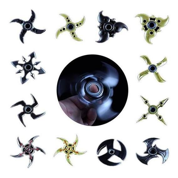 Mão Spinner Tri Fidget Metal Foco Foco Edc Brinquedos Para G