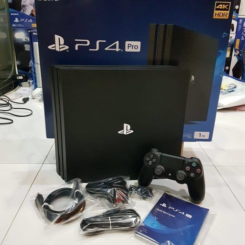 Ps4 Pro 1tb Sony Playstation 4 Pro 4k  5 Games 2 Controller