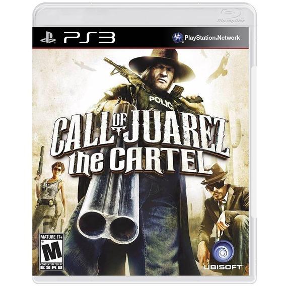Call Of Juarez The Cartel Ps3 | Mídia Física Original