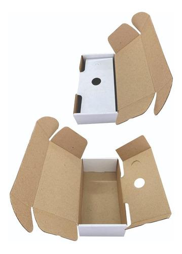 Imagen 1 de 3 de 25 Cajas De Carton Corrugado Para Celular 19 X 5.5 X 10 Cm